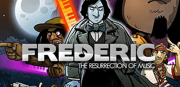 Frederic: Resurrection of Music - Cover / Packshot
