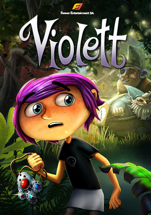 Violett Remastered - Cover / Packshot