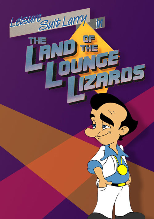 Leisure Suit Larry 1 - In the Land of the Lounge Lizards - Cover / Packshot