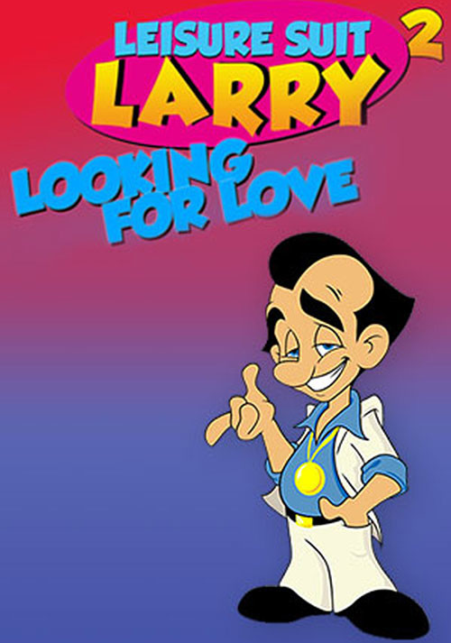 Leisure Suit Larry 2 - Looking For Love (In Several Wrong Places) - Cover / Packshot