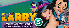 Leisure Suit Larry 5 - Passionate Patti Does a Little Undercover Work