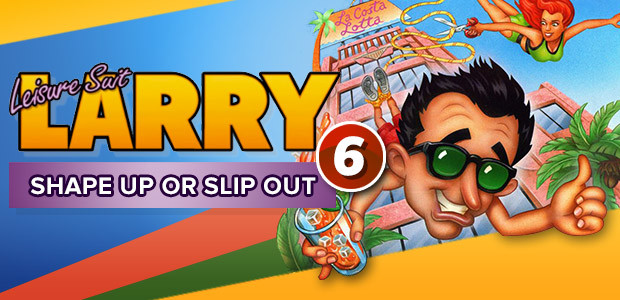 Leisure Suit Larry 6 - Shape Up Or Slip Out - Cover / Packshot
