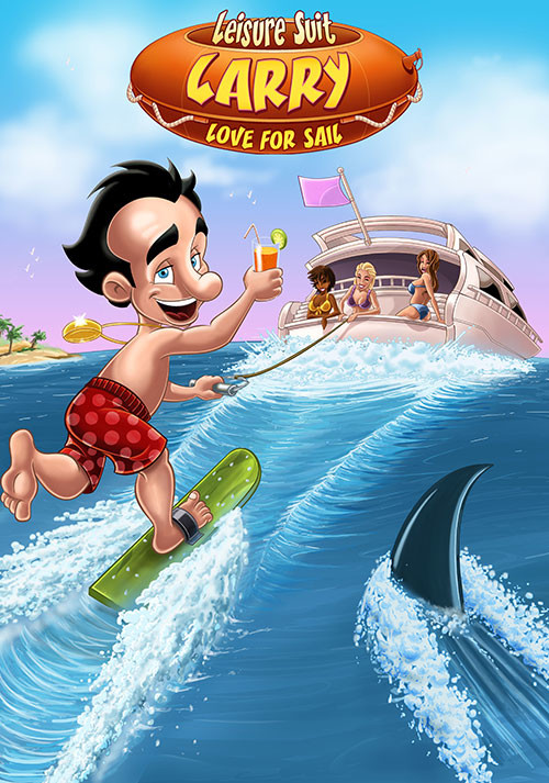 Leisure Suit Larry 7 - Love for Sail - Cover / Packshot