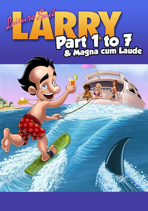 Leisure Suit Larry Bundle - Cover