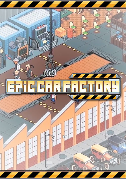 Epic Car Factory - Cover