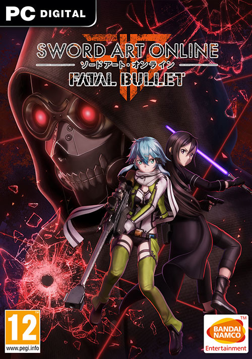 SWORD ART ONLINE: Fatal Bullet - Cover