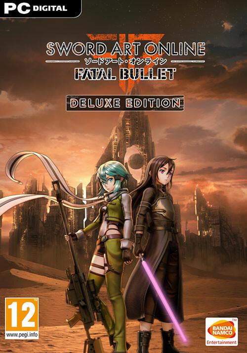 SWORD ART ONLINE: Fatal Bullet – Deluxe Edition - Packshot