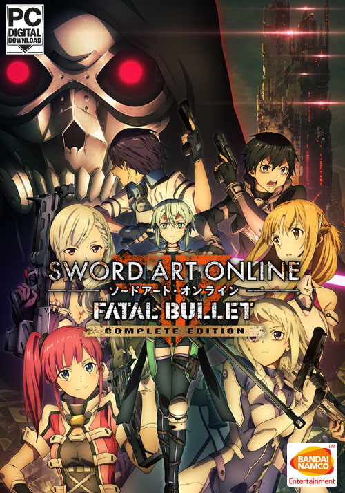 SWORD ART ONLINE: FATAL BULLET Complete Edition - Cover / Packshot