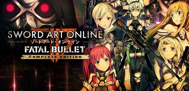 SWORD ART ONLINE: FATAL BULLET Complete Edition - Cover / Packshot