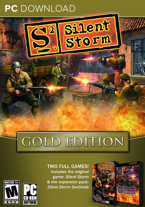 Silent Storm Gold Edition - Cover