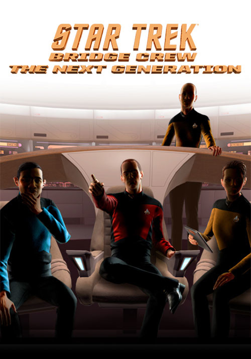 Star Trek Bridge Crew: The Next Generation - Cover / Packshot