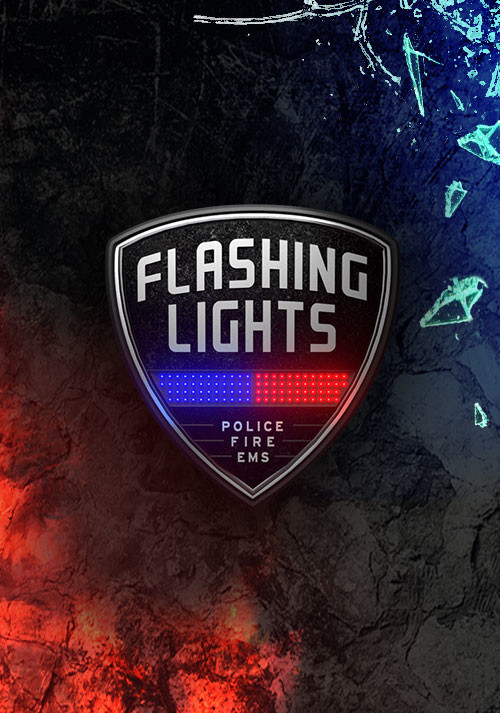 Flashing Lights - Police, Fire, EMS - Cover