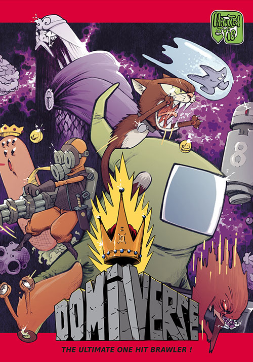Domiverse - Cover