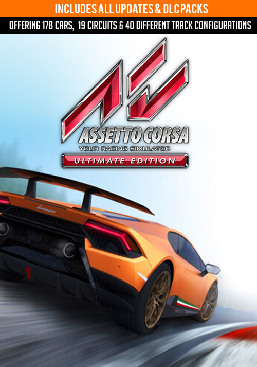 Assetto Corsa Ultimate Edition - Cover / Packshot