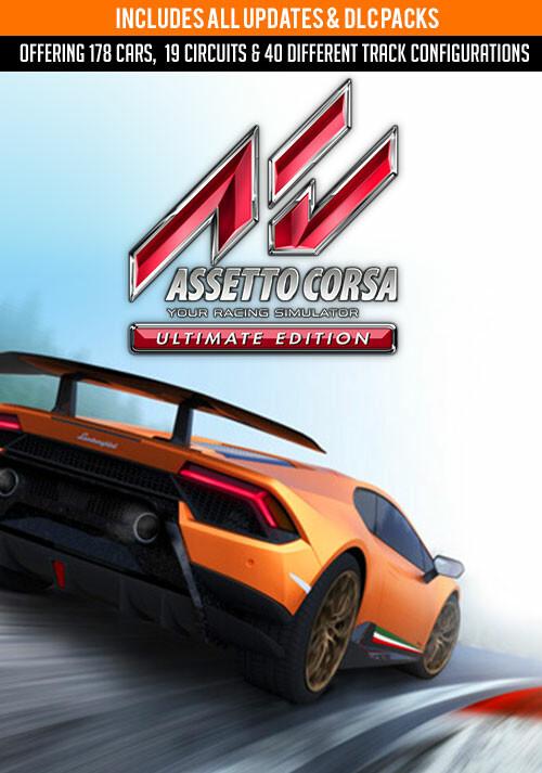 Assetto Corsa Ultimate Edition - Cover