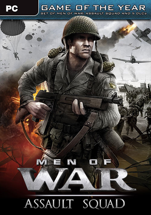 Men of War: Assault Squad Game of the Year Edition - Cover