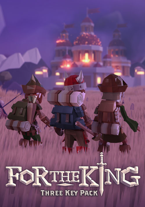 For The King 3-Pack - Cover
