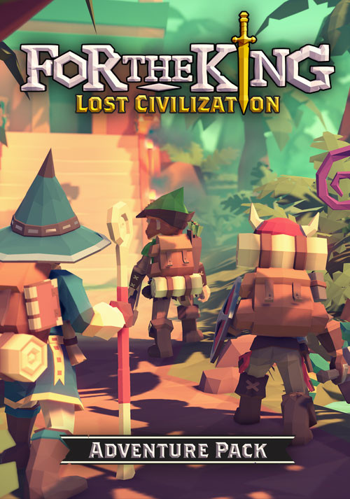 For The King: Lost Civilization Adventure Pack - Cover / Packshot