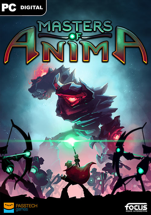 Masters of Anima - Cover