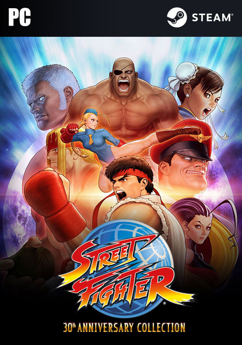 Street Fighter 30th Anniversary Collection - Cover