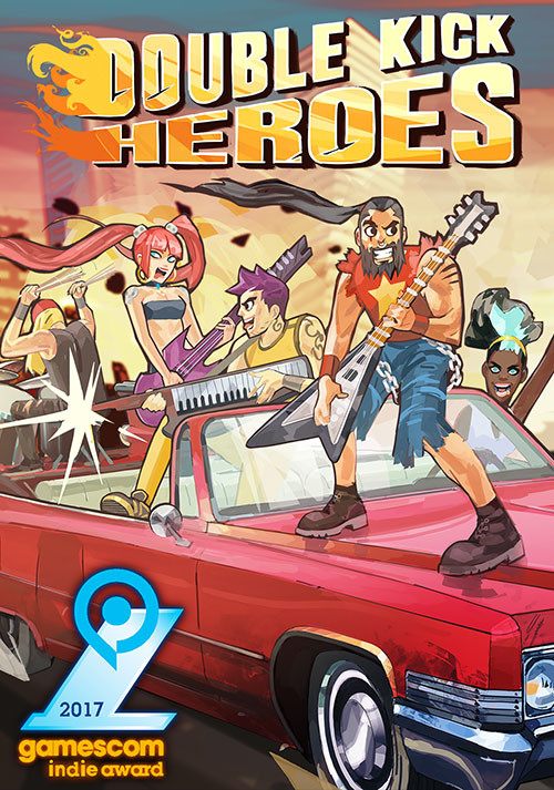Double Kick Heroes - Cover