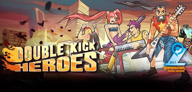 Double Kick Heroes - Cover / Packshot