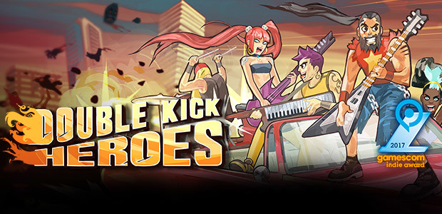 Double Kick Heroes - Cover / Packshot