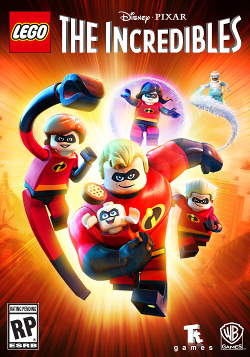 LEGO The Incredibles - Cover / Packshot