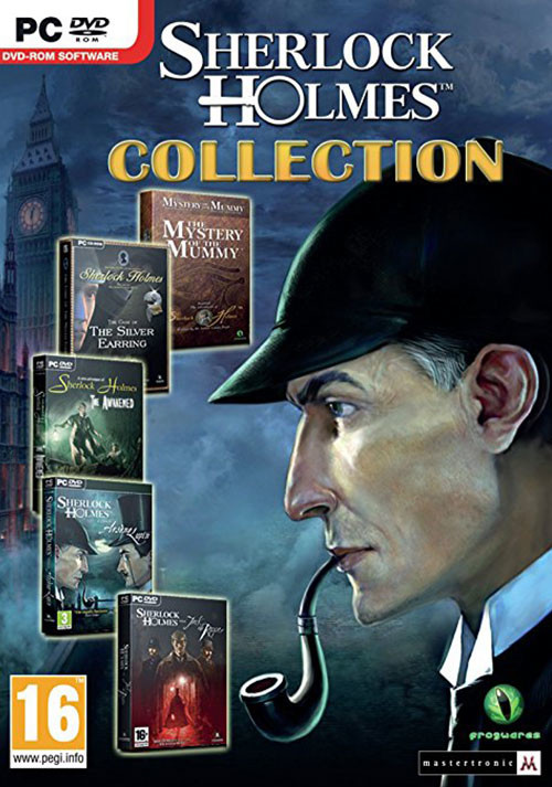 The Sherlock Holmes Collection - Cover / Packshot