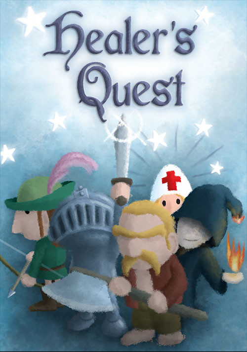 Healer's Quest - Cover / Packshot
