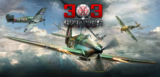 303 Squadron: Battle of Britain - Cover / Packshot
