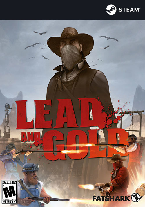 Lead and Gold: Gangs of the Wild West - Cover / Packshot