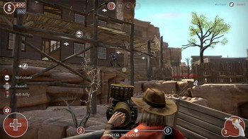 Screenshot2 - Lead and Gold: Gangs of the Wild West