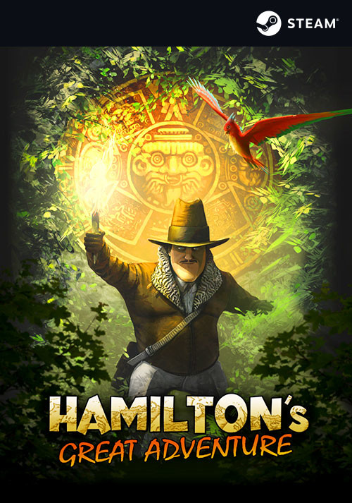 Hamilton's Great Adventure - Cover / Packshot