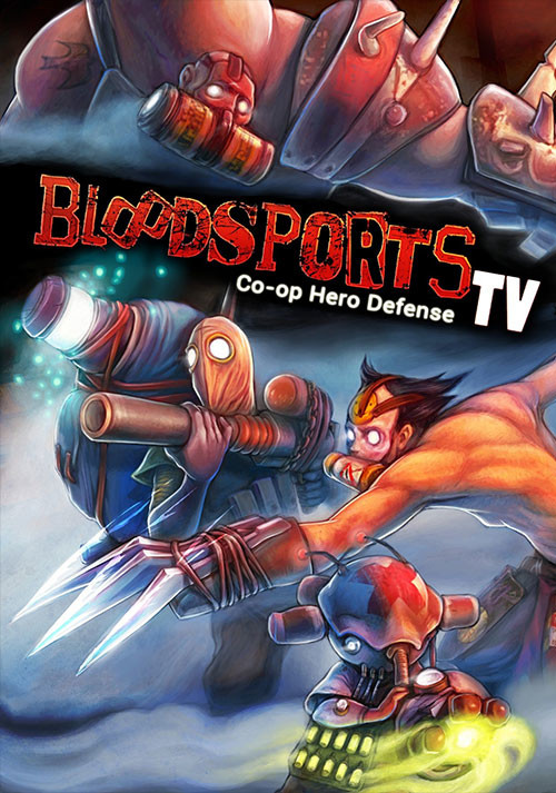 Bloodsports.TV - Cover / Packshot