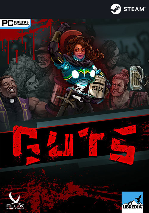 GUTS - Cover / Packshot