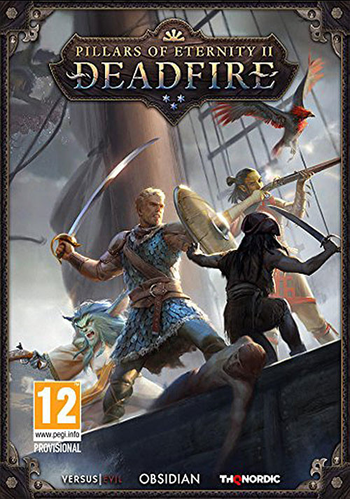 Pillars of Eternity II: Deadfire - Cover