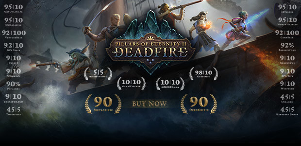 Pillars of Eternity II: Deadfire - Cover / Packshot