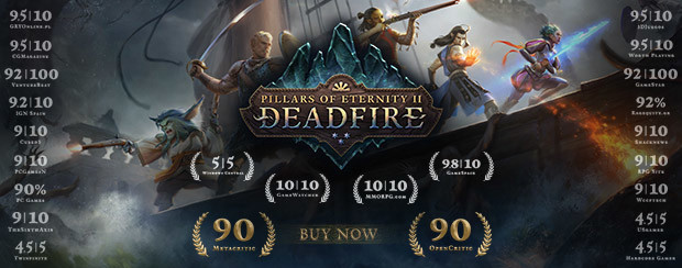 Pillars 2: Deadfire Critics