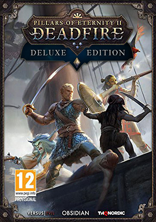 Pillars of Eternity II: Deadfire - Deluxe Edition - Cover