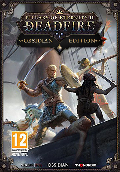 Pillars of Eternity II: Deadfire - Obsidian Edition - Cover
