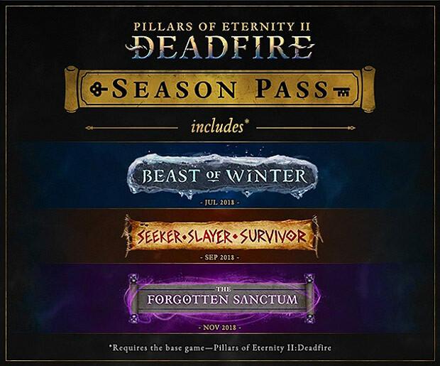 Pillars of Eternity 2: Deadfire - Season Pass