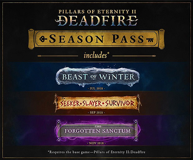 Pillars of Eternity 2: Deadfire - Season Pass