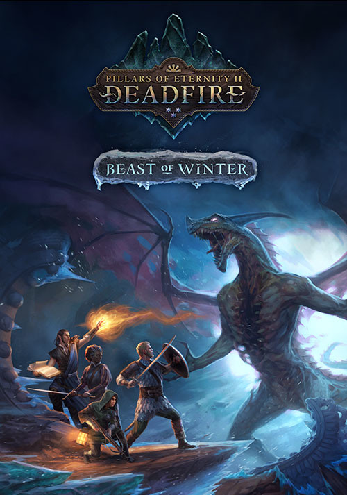 Pillars of Eternity II: Deadfire - Beast of Winter - Cover
