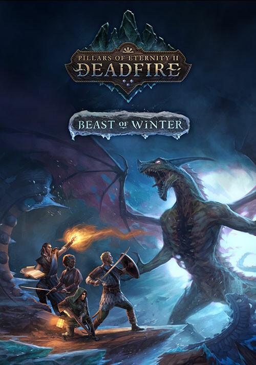 Pillars of Eternity II: Deadfire - Beast of Winter - Cover