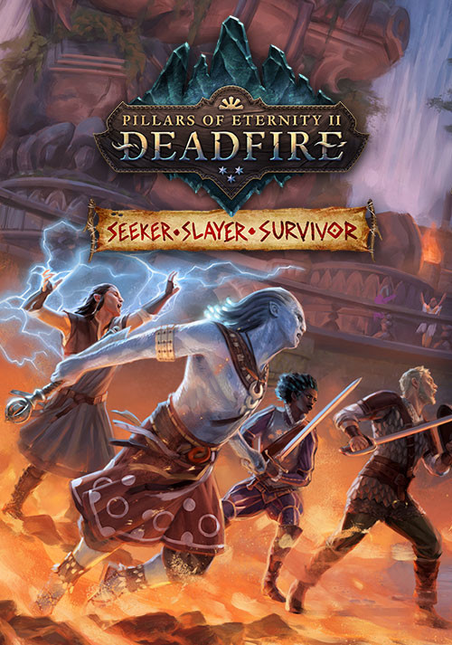 Pillars of Eternity II: Deadfire - Seeker, Slayer, Survivor - Cover / Packshot