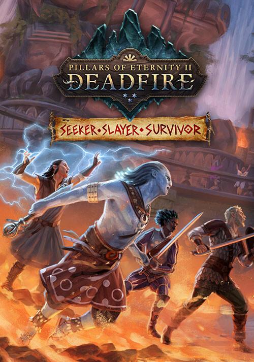 Pillars of Eternity II: Deadfire - Seeker, Slayer, Survivor - Cover