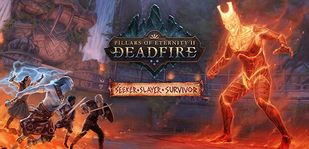 Pillars of Eternity II: Deadfire - Seeker, Slayer, Survivor - Cover / Packshot