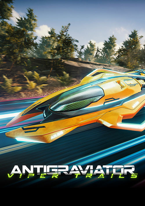 Antigraviator: Viper Trails - Cover / Packshot