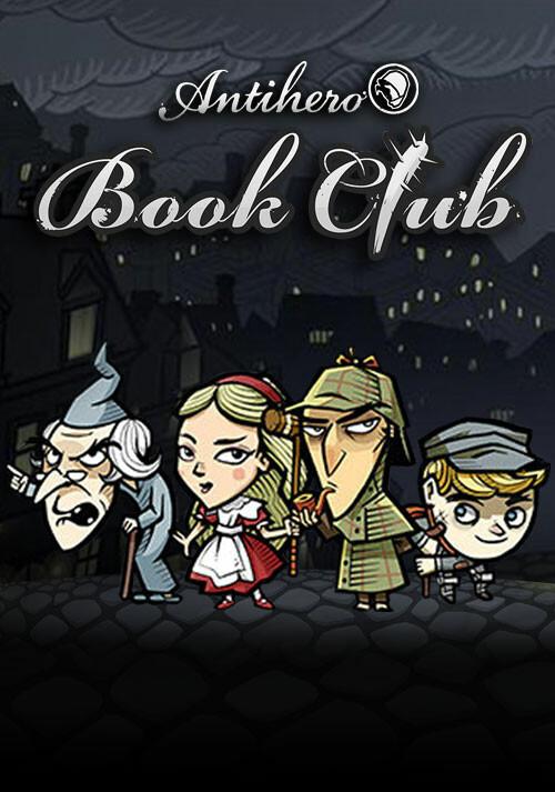 Antihero Book Club Characters - Cover